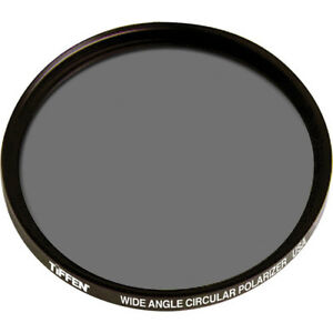 Tiffen 67mm Circular Polarizing Wide Angle (Low Profile Design) Filter 67WIDCP