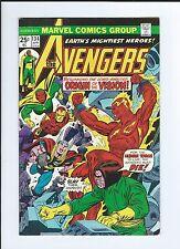 Marvel Avengers 134 Origin Vision--- RARE KEY Comic book