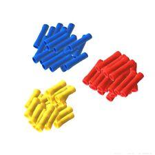 100x Stossverbinder isoliert Set 40 rot 50 blau 10 gelb Quetschverbinder Stoß