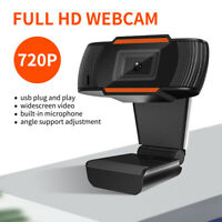 HD Webcam With Microphone Auto Focusing Web Camera For PC Laptop Desktop 720P