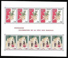 Timbres Monaco Bloc Feuillet 1981 EUROPA N°19 Neuf Sans Charnière