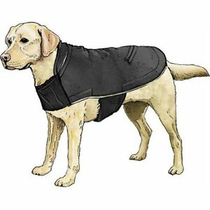 Duluth Trading Company Scout's Packable Dog Rain Jacket in SMALL Navy Blue