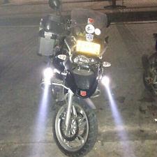 125W Motorcycle Headlight spotlight 3000LM Moto U5 LED Spot auxiliary Lamp 1pair