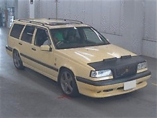 VOLVO 850 T5R ESTATE IN YELLOW - 1995 MODEL HERE NOW FROM JAPAN  £9995