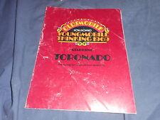 1969 Oldsmobile Toronado Catalog Brochure Prospekt