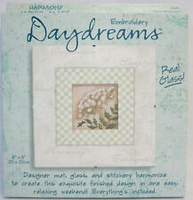 Daydreams Harmony Queen Anne's Lace Embroidery Kit Instructions & all Included