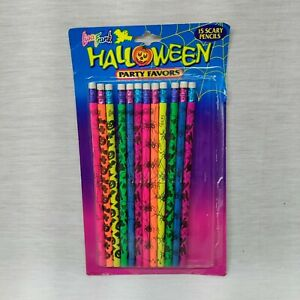 Lisa Frank Halloween Pencils Open Pack 12 Party Favors