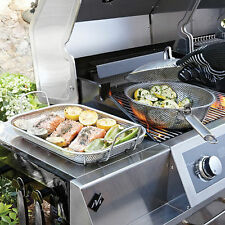 Stainless Steel Basket Lid and Tray Outdoor Cooking Combo BA2171001-MM