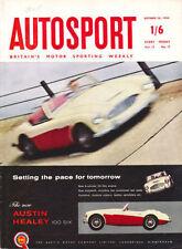 Autosport October 26th 1956 *Monoposto by Lotus*
