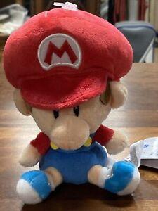 * Super Mario All Star Baby Mario Plush Toy