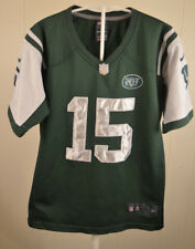 Nike New York Jets Jersey #15 Tim Tebow Youth Large (14-16) Green NFL Sewn
