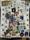 Lot+US+Military+Medal+Ribbons+Badges+Pins+Civil+Spanish+War+Cavalry+Some+Modern