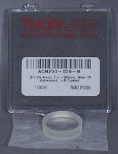 "NEW Thorlabs ACN254-050-B f=-50.0 mm, Ø1"" Achromatic Doublet, ARC: 650-1050 nm"