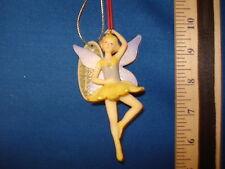 Fairy Ornament Blonde Ballerina  0423  31