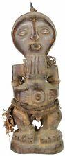 Songye Tribal Power Figure Statue of Congo
