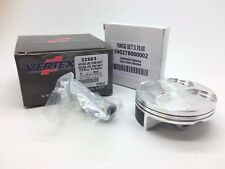 Vertex Piston Kit 2983B Honda CRF 250 Rings Pin Clips 2004-2007 Replica 77.96mm