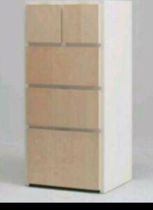 IKEA RAKKE KOMMODE WEISS/ BIRKE, NEU OVP schrank Sideboard Pax Passt zu Värde