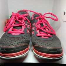 Adidas Tennis Shoes Non Marking Pink - Gray - Silver Shoes Size 6.5 Breathable