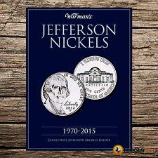 Jefferson Nickels 1970-2015  Folder #V9123