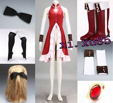 High Quality Puella Magi COS Madoka Magica Sakura Kyoko Cosplay Costume Any Size