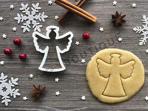 Angel Cookie Cutter 03 | Christmas |  Fondant Cake Decorating | UK Seller