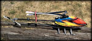 Align Trex 600e Pro DFC RC Heli Helicopter w/ Case