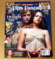 Film Fantasy Magazine Twilight Complete Story Robert Pattinson Kristen Stewart