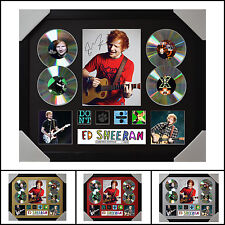 Ed Sheeran 4CD Signed Framed Memorabilia Limited Ed. 2017 - Multiple Variations