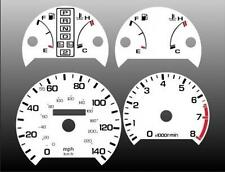 1987-1990 Acura Legend Dash Cluster White Face Gauges 87-90