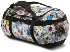 The North Face Base Camp Duffel Bag L Luggage - TNF Red Sticker Bomb Decay Print