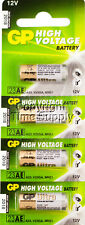4 PCS GP23AE GP 23A MN21 A23 V23GA VR22 12 VOLT Batteries Expire 2018