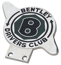 Bentley Drivers Club car grillle badge