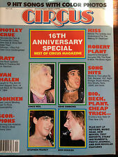 Circus Magazine October 31, 1985 16th Anniversary Special Best of Circus Magazin