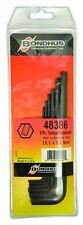 2.5mm - 8mm Tamper Resistant Hex End L-Wrenches 6pc Set Bondhus USA Part #48386