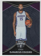 Demarcus cousins 2016-17 Totally Certified baloncesto franquicia Foundations
