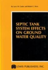 Septic Tank System Effects on Ground Water Quality-ExLibrary