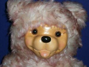 Vintage Robert Raikes Pink'n Pouty Plush Mohair Bear Ltd Edition #286 14in 1999