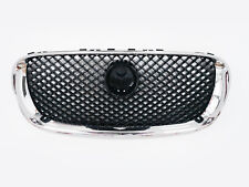Chromed+Black Front Grill Grille XFR style For 2009 Jaguar XF