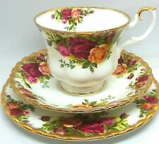 Royal Albert Old Country Roses Trio  Excellent Condition
