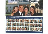 2001 George W. BUSH 3 INAUGURATION Huge POSTCARD