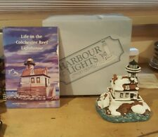 Harbour Lights 1996 Christmas Colchester Reef Vt Lighthouse 701 in Original Box