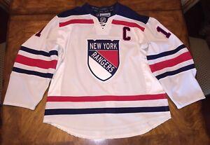MESSIER NEW YORK RANGERS AUTHENTIC 2012 WINTER CLASSIC REEBOK EDGE 2.0 JERSEY