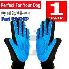 Pet Hair Brush Dog Cat Comb Glove Grooming Remover Mitt Fur Massage DeShedding