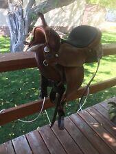 "14"" Genuine Ortho-Flex Barrel Racing Saddle"