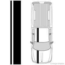 Single Offset Rally Racing Stripes 3M Vinyl Stripe Decals for Dodge Dakota