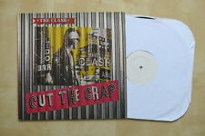 THE CLASH Cut The Crap UK white label test pressing vinyl LP CBS 26601 1985