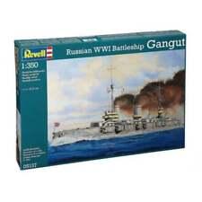 Revell 1:350 Escala WWI ruso Battleship Barco Gangut Modelo Kit-RR05137
