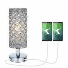Lampe Cristal, Tomshine K5 Crystal Lampe De Chevet, Double Usb Rechargeable, Cri