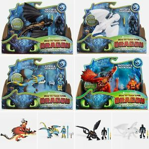 Dreamworks - How to Train Your Dragon Action Figure Sets - Choose Your Dragon