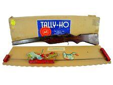 Vintage 1941 Cadaco Tally Ho Target Game w/ Box (Rare)